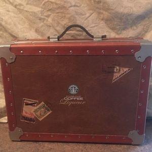 STARBUCKS COFFEE SOUTH AMERICA TRAVEL CASE w/ PASS